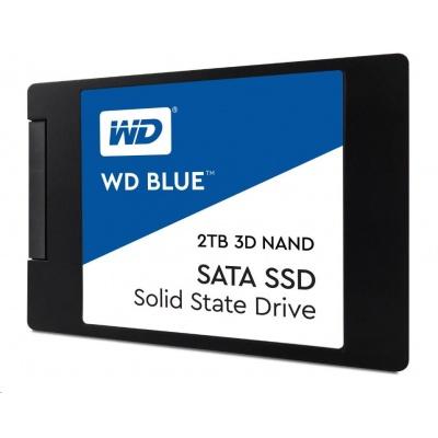 "WD BLUE SSD 3D NAND WDS500G2B0A 500GB SATA/600, (R:560, W:530MB/s), 2.5"""