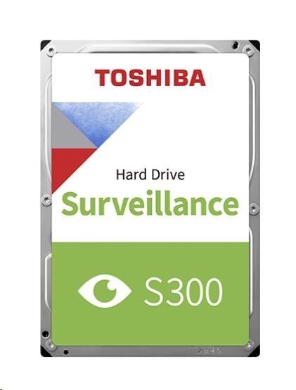 "TOSHIBA HDD S300 Surveillance 6TB, SATA III, 7200 rpm, 256MB cache, 3,5"", BULK"