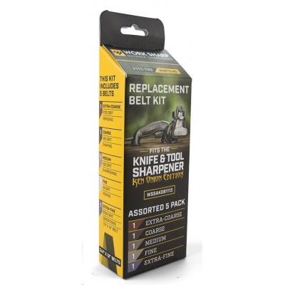 Work Sharp - WSKTS  Ken Onion Edition  Belt Kit Qty 5 - náhradní brusné pásky