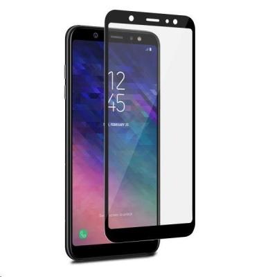 """Puro ochranné sklo Tempered Glass s rámečkem pro Samsung A6+ 2018 6.0"""", černý rámeček"""