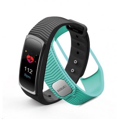 EVOLVEO FitBand B3, fitness náramek pro měření krevního tlaku a tepové frekvence
