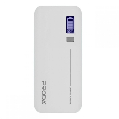 REMAX PowerBank Proda 20000 mAh, LED display, bílá barva   EXCLUSIVE