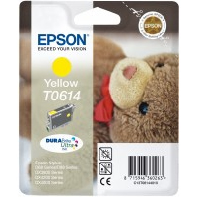 "EPSON ink bar Stylus ""Medvídek"" D68/D88/DX3850/DX4850 - yellow"