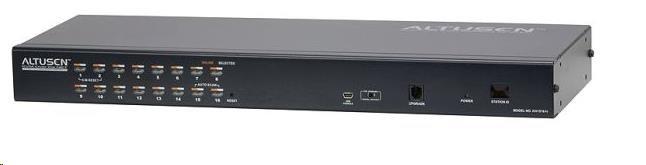 ATEN přepínač KH-1516AI 16-port OverNet Cat5 KVM PS/2+USB, OSD, rack, SUN, PON, VNC