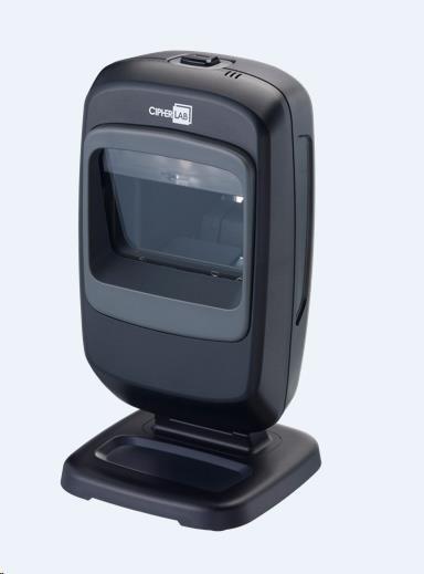 CipherLab 2200 Všesměrová pokladní čtečka čárových, 2D a QR kódů, USB
