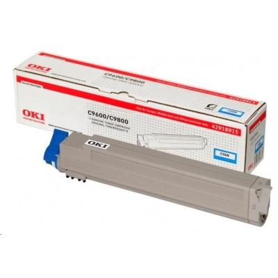 Oki Toner Cyan do C9600/C9650/C9800/C9850/C9800MFP/C9850MFP (15k)