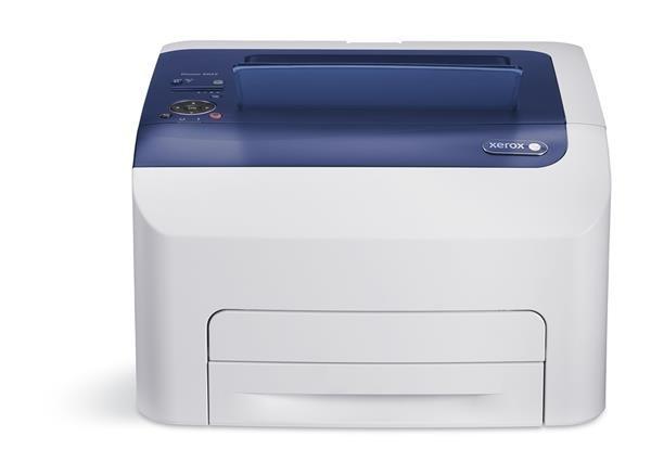 Xerox Phaser 6022Ni Barevná HiQ LED tiskárna, A4, 18ppm, USB, NET, Wi-Fi, 256mb, PCL, Apple AirPrint, Google Cloud Print