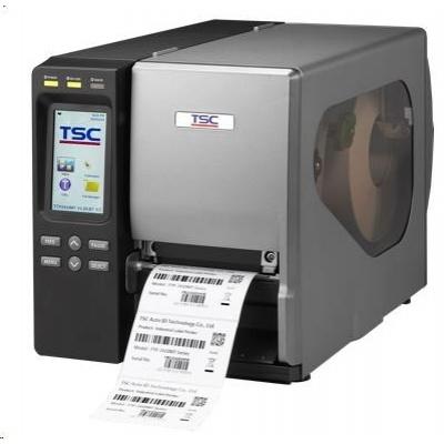TSC TTP-2410MT Průmyslová TT tiskárna čárových kódů, dotykový LCD, 203 dpi, 14 ips