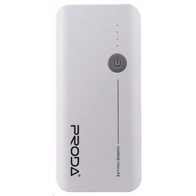 REMAX PowerBank Proda 20000 mAh, bez display, bílo-šedá barva   EXCLUSIVE