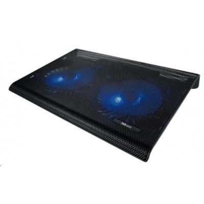 TRUST Stojan na notebook Azul Laptop Cooling Stand with dual fans (chladící podložka)