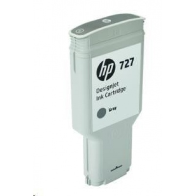 HP 727 300-ml Grey DesignJet Ink Cartridge