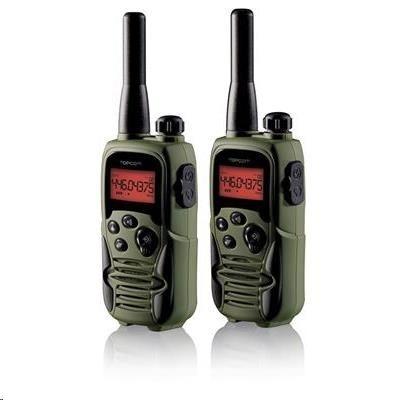 Topcom RC-6406 Twintalker 9500 Airsoft - souprava 2 vysílaček, maskáčové prevedení