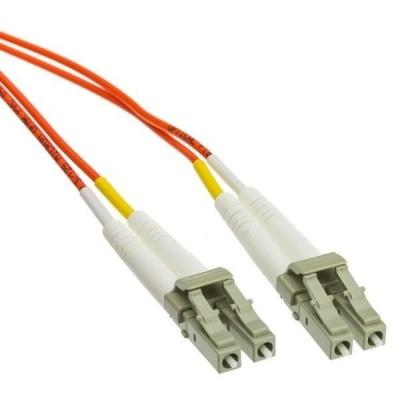 Duplexní patch kabel MM 62,5/125 OM1, LC-LC, LS0H, 5m