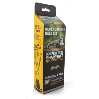Work Sharp - Belt Kit for X22 Medium PP0003207 (new U242 belt) Qty 5 - náhradní brusné pásky