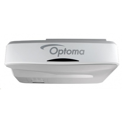 Optoma projektor ZH400USTi interaktivní ultra short-throw (Laser,1080p,FULL 3D,4000 ANSI, 100000:1, 2xHDMI, 2xVGA, RJ45)