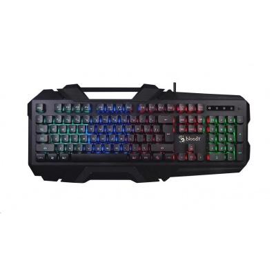 A4tech Bloody B150N podsvícená herní klávesnice, USB, CZ