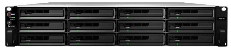 Synology RS3618xs RackStation (2,2GHz/8GBRAM/12xSATA/4xGbE/2xPCIe)