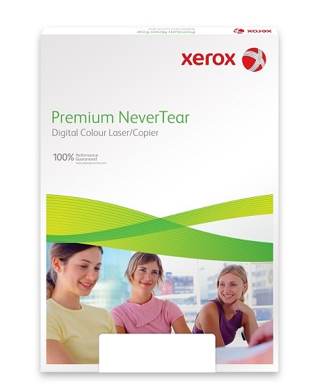 Xerox Papír Premium Never Tear PNT 123 A4 - Tmavě Oranžová (g/100 listů, A4)