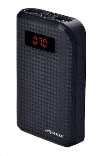 MyMax PowerBank CARBON 10000mAh ( Black )