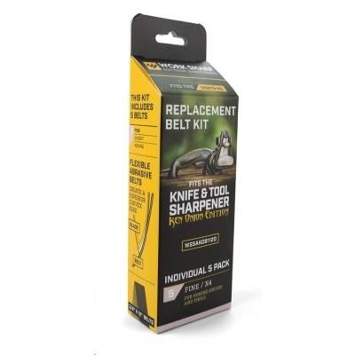 Belt Kit for X4 Fine PP0002938 Qty 5 - náhradní brusné pásky