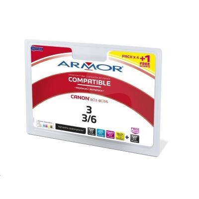 BAZAR ARMOR cartridge pro CANON i560/ i865,iP3000/iP4000/iP5000 multipack (BCI-3a6) (POŠKOZENÝ OBAL)