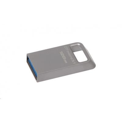 Kingston 128GB USB 3.0 DataTraveler Micro 3.1 - kovový