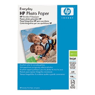 HP Everyday Glossy Photo Paper-25 sht/A4/210 x 297 mm, 200 g/m2, Q5451A