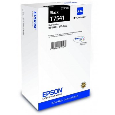 EPSON Ink čer WF-8xxx Series Ink Cartridge XXL Black - 10.000str. (202 ml)